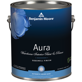 Aura® Waterborne Interior Paint. Image Of Benjamin Moore ...