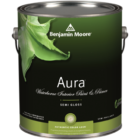 image of Benjamin Moore Regal Aura Semi-Gloss can