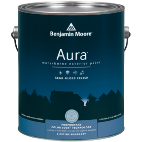 image of Benjamin Moore Regal Aura Exterior Semi Gloss can