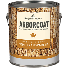 image of Benjamin Moore ArborCoat can