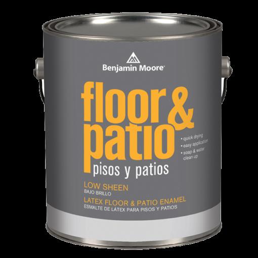 image of Benjamin Moore Floor & Patio Low Sheen can