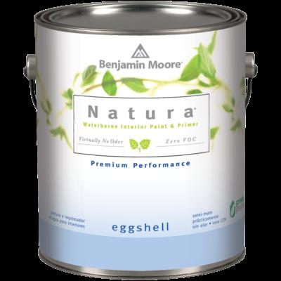 image of Benjamin Moore Natura Eggshell can