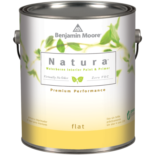 image of Benjamin Moore Natura Flat can