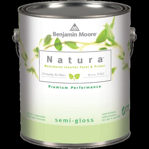 image of Benjamin Moore Natura Semi-Gloss can