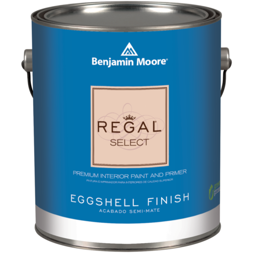 image of Benjamin Moore Regal Select Eggshell Finish can