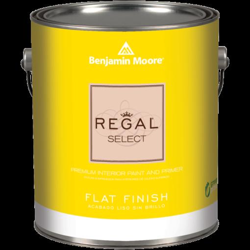 image of Benjamin Moore Regal Select Flat Finish can