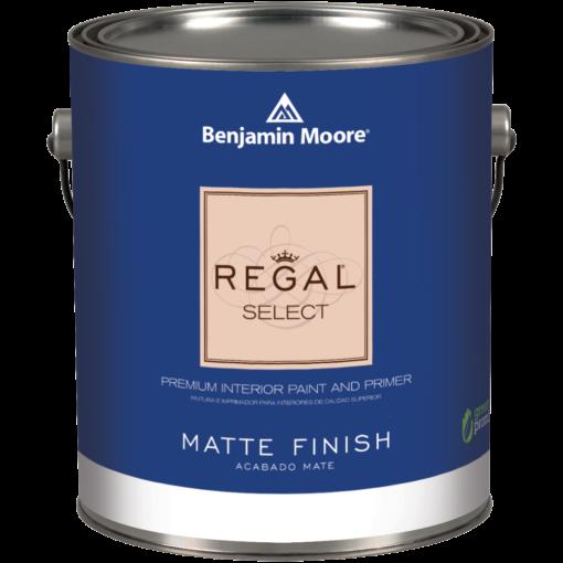 image of Benjamin Moore Regal Regal Select Matt Finish can