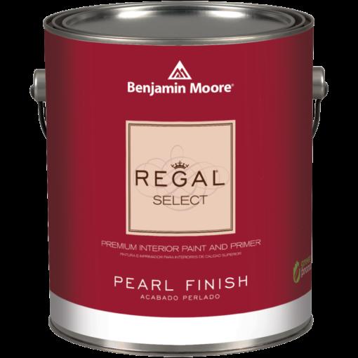image of Benjamin Moore Regal Select Pearl Finish can