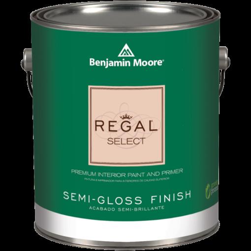 image of Benjamin Moore Regal Select Semi-Gloss can